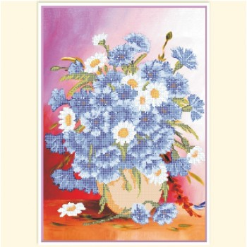 Bouquet-of-cornflowers. РС-659