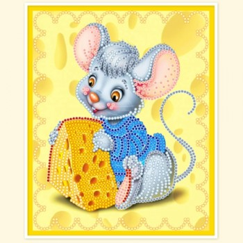 Mouse-with-cheese