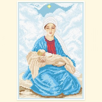 The-Most-Holy-Theotokos-with-a-baby-in-her-arms