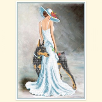 Lady-with-dog