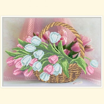Tulips-in-a-basket
