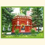 Надкладезная часовня. Псково-Печорский монастырь