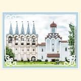 """Церковь """"Покрова"""" и монастырская звонница. Тихвинский мужской монастырь"""