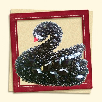 Brooch-Black-Swan