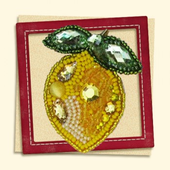 Brooch-Lemon