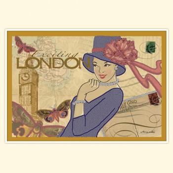 Vintage card: London