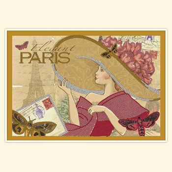 Vintage card: Paris