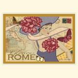 """Винтажная открытка """"Рим"""""""