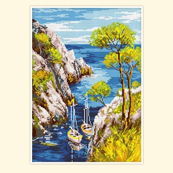 Acacia over the sea