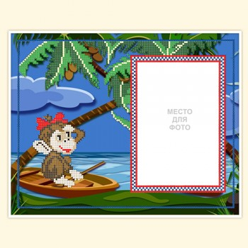 "photoframe ""Small monkey"""