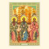 Образ Стых Праотец: Св. Авраам, Исаак, Иаков
