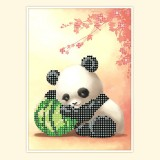 Панда и арбуз