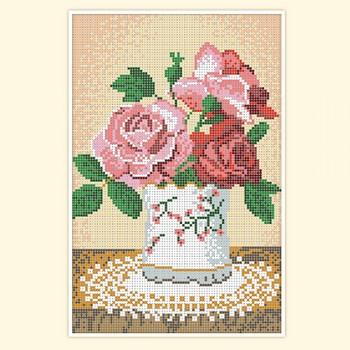 roseы in vase