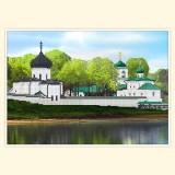 Мирожский монастырь в Пскове