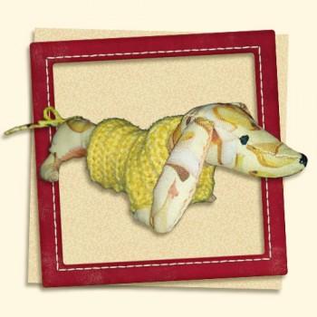 Banana Tuesday (dachshund Banana)