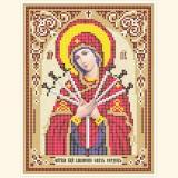 Образ Пресвятой Богородицы Умягчение злых сердец