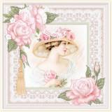 Дама в розах