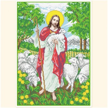 Jesus with the Lambs